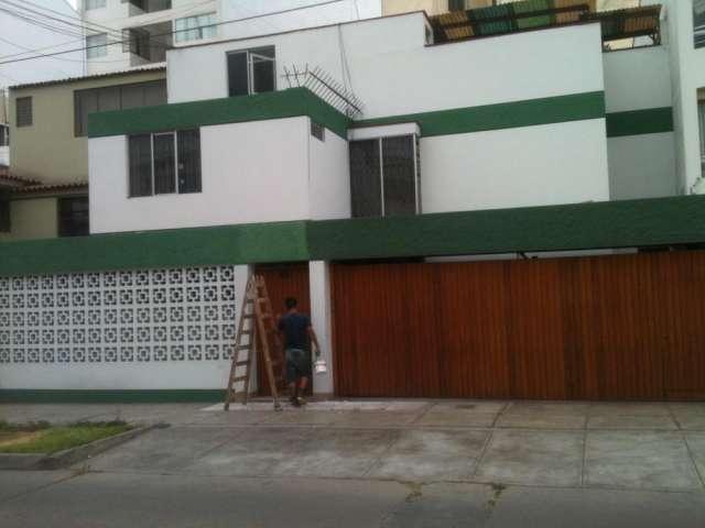 Pin fachadas oficinas departamento miraflores peru casas for Fachadas para oficinas