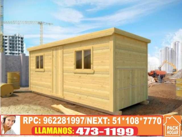 Precios de casas casetas prefabricadas de madera en lima - Casetas de campo prefabricadas ...