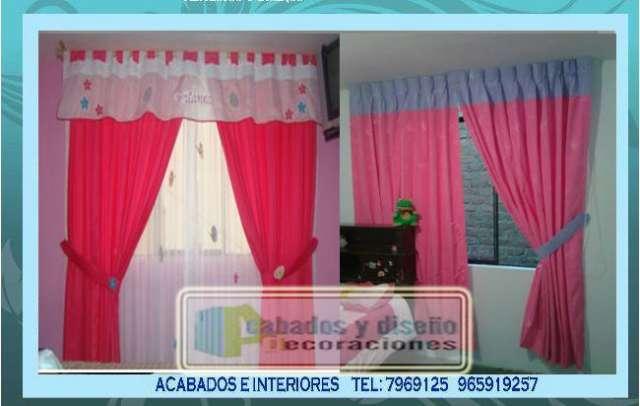 Diseo de cortinas para dormitorios best ampliar foto with - Cortinas para habitaciones ...
