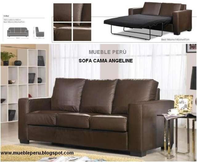 sofa cama moderno con diseño americano, desde s2000 en Lima, Perú
