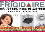 Tecnicos Especialistas en Secadoras Frigidaire 7378107 (La Molina)