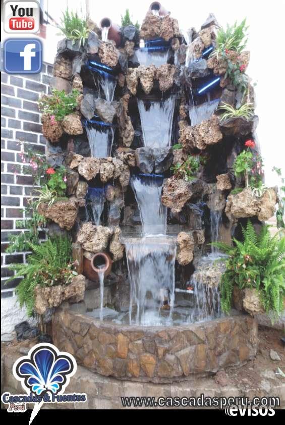 Diseo de cascadas para jardin interesting jardines ideas for Cascadas de agua para interiores