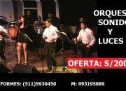 Orquesta digital peru oferta orquestas bodas