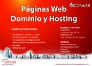 PAGINAS WEB - DOMINIO Y HOSTING AREQUIPA