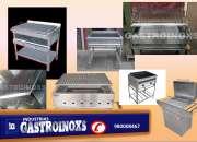 PARRILLAS DE ACERO INOXIDABLE GASTROINOXS