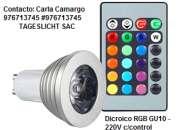 Dicroico led rgb incluye control ofertas! segunda mano  Lima