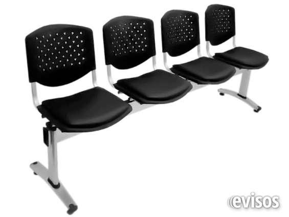 Tandem sillas de espera para oficinas y negocios en Lima - Muebles ...