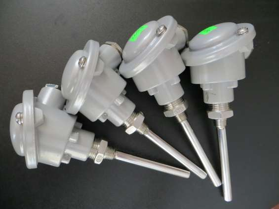 Sensores tipo pt1000-rtd, 3 polos de conexión