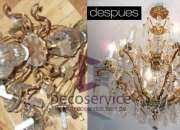 991153920 Servicio de restauración de arañas de cristal europeas Decoservice