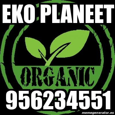 Eko planeet servicio de fumigacion organica 956234551