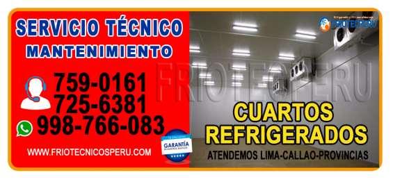 Empresa encargada de la reparación de todo tipo de cámaras de congelación- 7590161*
