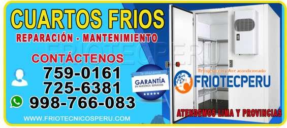 ¡inmediato! reparación a todo tipo de congeladoras en lima- 7590161