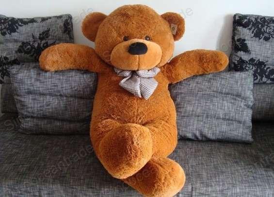 Peluche grande oso teddy marrón 180 cm