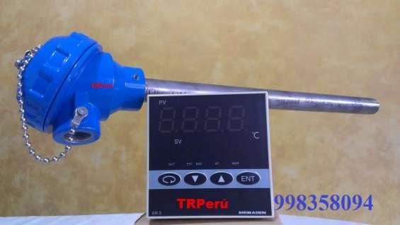 Sensores de temperatura pt100-rtd.