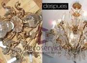 991153920 Repuestos de Arañas de cristal damos mantenimiento Decoservice