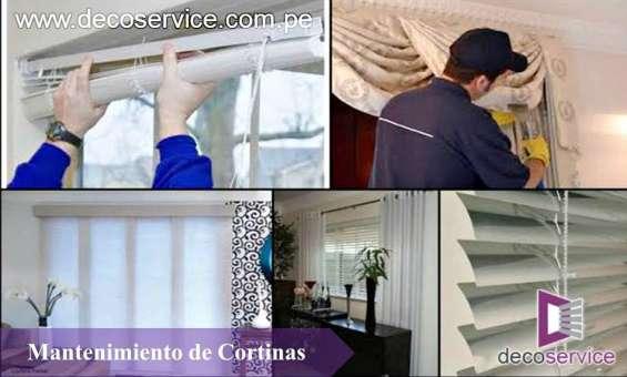 991153920 servicio de lavado de estores, cortina y muebles