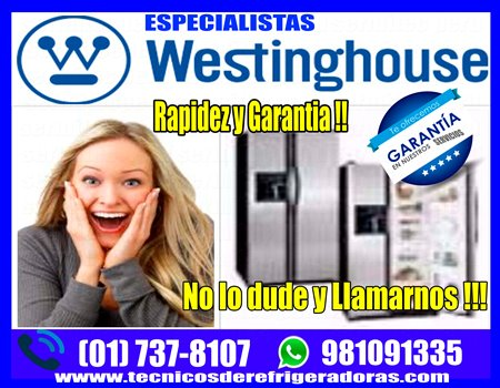 Soporte técnico de refrigeradoras – congeladoras -westinghouse chorrillos