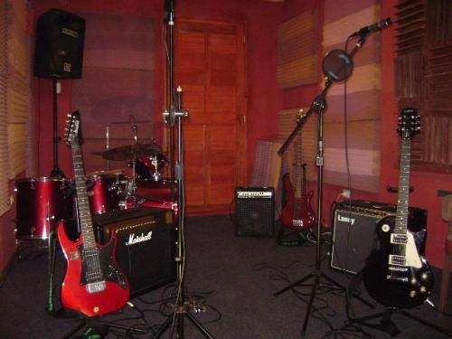 Sala de ensayo sector sound records