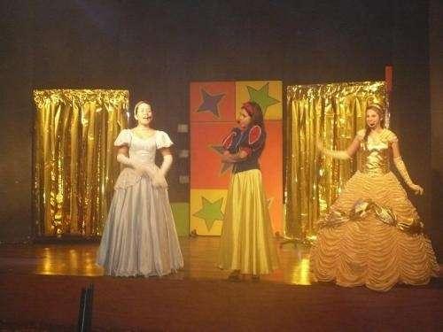 * princesas en lazy town - teatro auditorio miraflores *