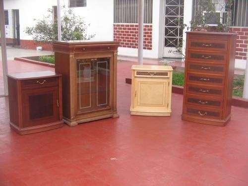 Gran oferta de muebles de madera finos de coleccion.