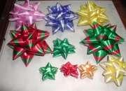 Cajas de regalo, lazos para canastas.