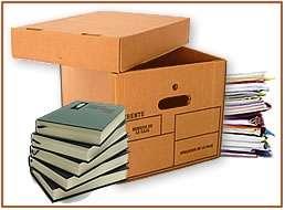 Cajas de carton / archivadoras