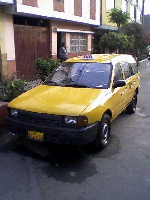 Vendo nissan ad wagon diesel 96