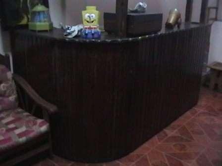Vendo o remato mueble bar acabado rustico