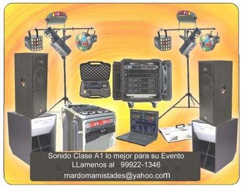 Alquilamos equipos de sonido clase a1 en lima peru