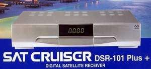Receptor de satelite sat cruiser