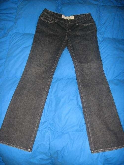 Pantalon jean loft ann taylor negro 100% original