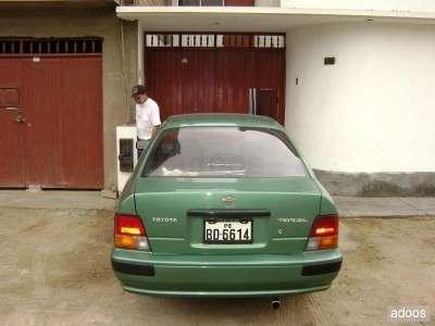Fotos de Vendo toyota tercel 1995 verde mecanico gasolina mp3 unico dueño conservado cel. 4