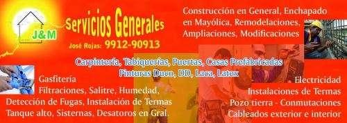 Servicios generales j&m