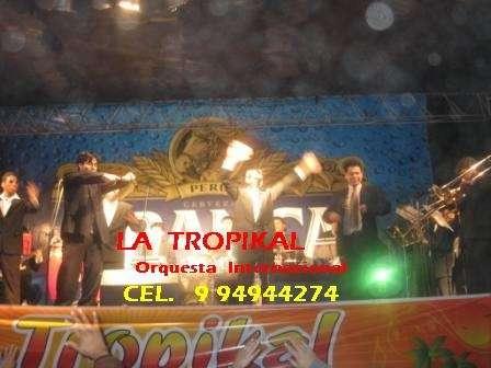 Orquestas lima peru orquesta la tropikal