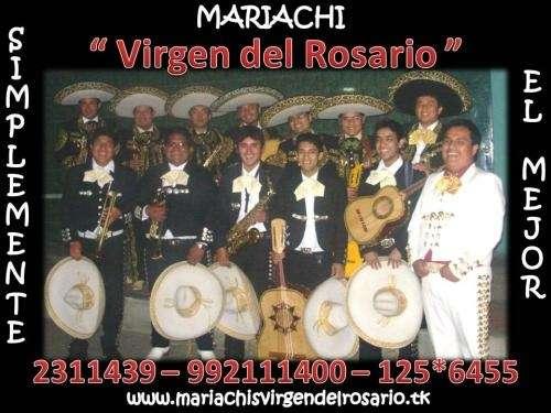 Mariachis peru virgen del rosario lima
