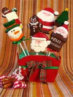 Chocolates navideños bunchi delicias y para otras ocasiones