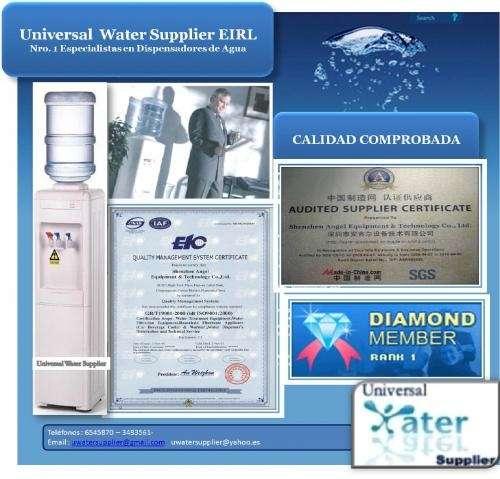 Dispensador de agua elegante, práctico y económico