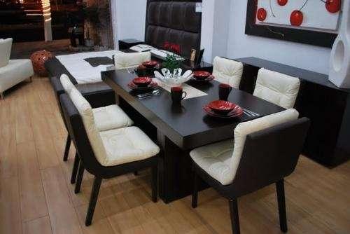 Muebles de acero modernos, comedores de acero, mesas, sillas ...