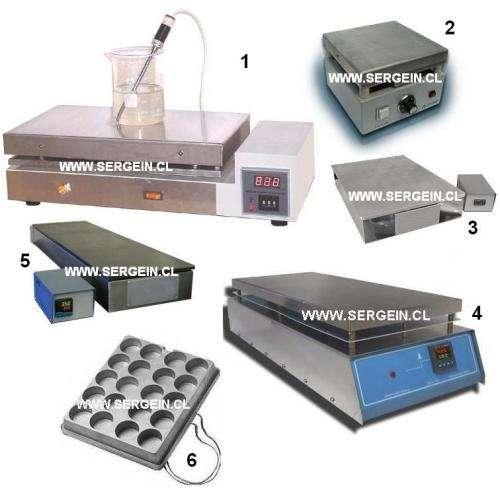 Placa calefactora laboratorio