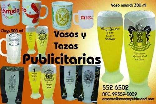 Vasos y tazas publicitarios quality & fashion - sanapa publicidad que marca