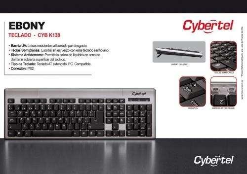 Teclado cybertel ebony nuevo