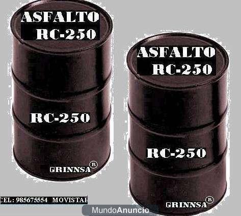 Vendemos asfalto rc-250 x cilindros y cisternas next:412*3877