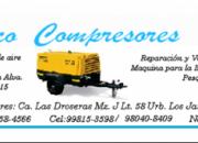 VENTA , REPARACION Y MANTENIMIENTO  COMPRESORAS DE AIRE