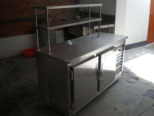 Mesas refrigeradas acero inox fabrica vende a precio