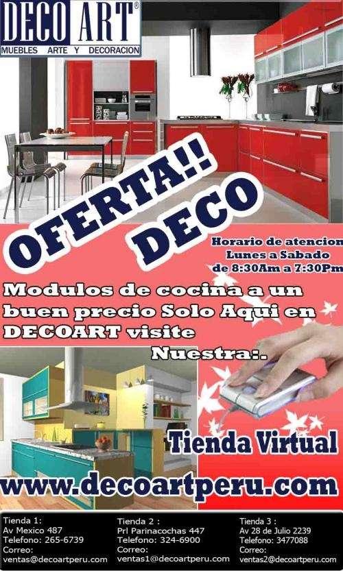 Muebles de cocina, muebles para el hogar en decoartperu