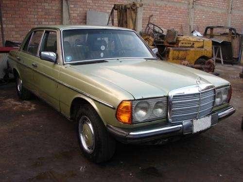 Mercedes benz 1983 300d motor reparado petrolero mecanico 5 cilindros soat nuevo