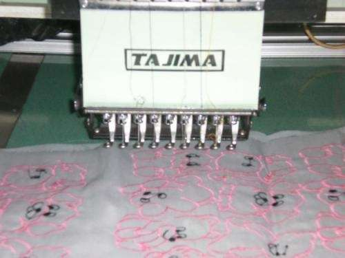 Vendo maquina bordadora