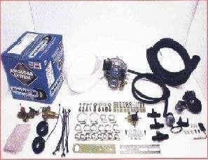 Kit de gnv para vehiculos carburados