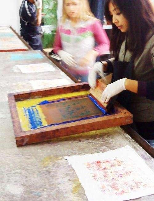 Curso taller de estampado textil