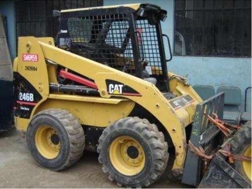 Cat 246b minicargador